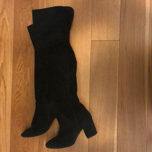 Zara real suede over the knee boots!